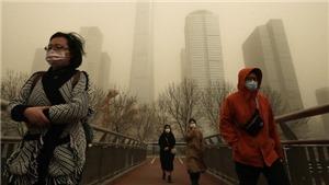 Trung Quốc ban hành cảnh báo vàng đối với bão cát