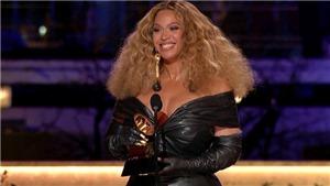 Beyonce đi vào lịch sử Grammy: Tôi đã làm việc cả đời