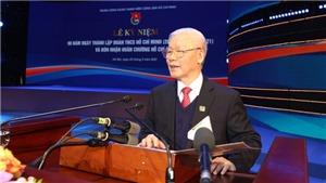 Tổng Bí thư, Chủ tịch nước Nguyễn Phú Trọng dự Lễ kỷ niệm 90 năm Ngày thành lập Đoàn Thanh niên Cộng sản Hồ Chí Minh