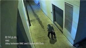 FBI công bố hình ảnh nghi phạm đặt bom tại thủ đô Washington