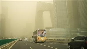 Thủ đô Bắc Kinh của Trung Quốc lại chìm trong bão cát