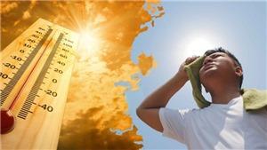 Người dân Bắc Bộ và Bắc Trung Bộ đề phòng sốc nhiệt do nắng nóng