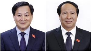 Quốc hội phê chuẩn bổ nhiệm Phó Thủ tướng Chính phủ Lê Minh Khái và Lê Văn Thành