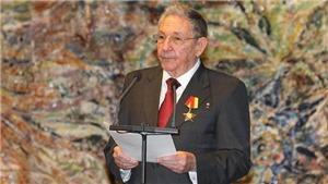 Đại tướng Raul Castro thông báo rời cương vị lãnh đạo Đảng Cộng sản Cuba