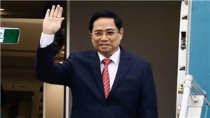 Thủ tướng Chính phủ Phạm Minh Chính rời Hà Nội đi dự Hội nghị các Nhà Lãnh đạo ASEAN
