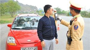 1.145 trường hợp vi phạm nồng độ cồn, 12 người chết vì tai nạn giao thông