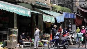 Hà Nội: Tạm dừng hoạt động các quán bia, giải tỏa chợ cóc, chợ tạm
