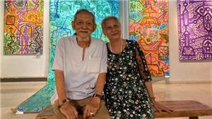 'Đám cưới vàng' của cặp đôi nghệ thuật Lê Triều Điển - Hồng Lĩnh