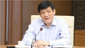 Bộ trưởng Bộ Y tế động viên nhân viên y tế dốc sức cùng cả nước phòng, chống dịch Covid-19