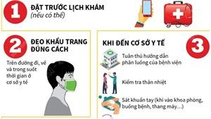 Phòng, chống dịch Covid-19: Giữ an toàn khi đến bệnh viện