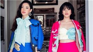 Hoa hậu Lương Thùy Linh - Đỗ Hà đẹp lộng lẫy trong BTS của NTK Lê Ngọc Lâm