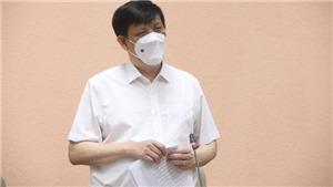Bộ trưởng Y tế: Các địa phương cần nâng cao mức độ cảnh báo dịch Covid-19