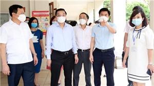Hà Nội: Nghiêm túc phòng, chống dịch Covid-19 để tổ chức tốt Kỳ thi vào lớp 10 THPT