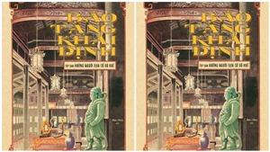 Sách 'Bảo tàng Khải Định': Từ bảo tàng cổ vật hàng đầu đến cảm hứng huyền thoại