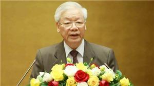 Tổng Bí thư Nguyễn Phú Trọng: Toàn hệ thống chính trị tập trung cao nhất cho công tác phòng, chống dịch Covid-19