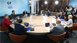 Mỹ tự tin vào sự ủng hộ của các lãnh đạo G7 với đề xuất thuế tối thiểu toàn cầu
