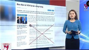 VIDEO: Xử lý nghiêm các đối tượng tấn công mạng Báo điện tử VOV