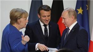 Thủ tướng Đức, Tổng thống Pháp kêu gọi châu Âu đối thoại với Nga