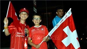 EURO 2020: Người dân Thụy Sĩ đổ ra đường mừng chiến thắng