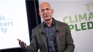Tỉ phú Jeff Bezos rời vị trí CEO Amazon
