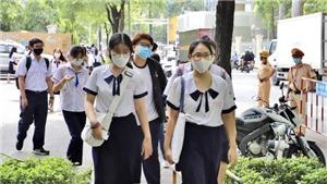 Ba điểm thi tại Thành phố Hồ Chí Minh phát sinh vấn đề liên quan đến dịch Covid-19