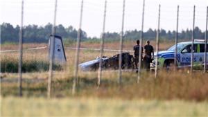 Toàn bộ hành khách và phi công thiệt mạng trong vụ rơi máy bay ở Thụy Điển