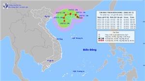 Tin bão khẩn cấp cơn bão số 3 trên Biển Đông