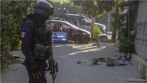 Bạo lực nghiêm trọng tại Mexico, ít nhất 30 người thiệt mạng