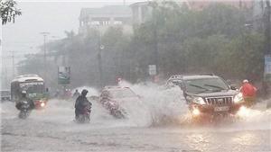 Áp thấp nhiệt đới gây mưa lớn diện rộng tại miền Bắc