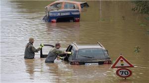 Hơn 180 người thiệt mạng trong đợt mưa lũ nghiêm trọng tại Đức