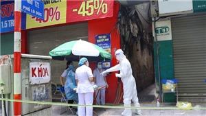 Hà Nội phong tỏa ngõ 172 Lò Đúc do ca nhiễm Covid-19