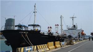 Mỹ tịch thu tàu Singapore dùng để chở dầu cho Triều Tiên