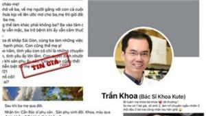 Thêm 3 chủ tài khoản Facebooker làm việc với Sở TTTT TP.HCM về vụ 'bác sĩ Khoa'