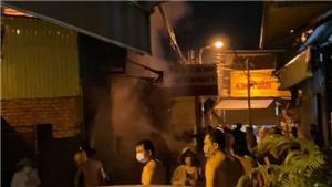 Cháy nhà dân trong đêm, năm người tử vong ở Bình Dương