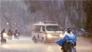 Thời tiết hôm nay: Bắc bộ và Hà Nội có mưa rào và dông