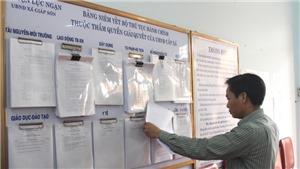 Mô hình 'chính quyền thân thiện' ở xã phường thị trấn tại Bắc Giang rất được mong đợi