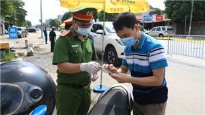 Phương án cho người dân và phương tiện lưu thông qua các vùng ở Hà Nội từ 6 giờ ngày 6/9