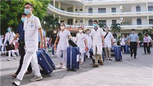 Những người con Quảng Ninh tiếp tục lên đường tham gia giúp Thủ đô Hà Nội chống dịch
