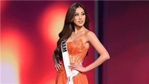 Hoa hậu Khánh Vân vào Top 20 Miss Grand Slam 2020