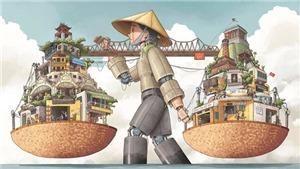 Xem 'Hà Nội rong', giải Nhất cuộc thi vẽ Hà Nội của UNESCO