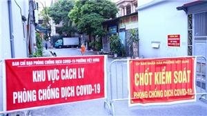 Thêm 3 người trong một gia đình ở Việt Hưng dương tính, Hà Nội có 5 ca mới