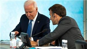 Pháp - Mỹ nỗ lực xây dựng lại lòng tin sau căng thẳng AUKUS