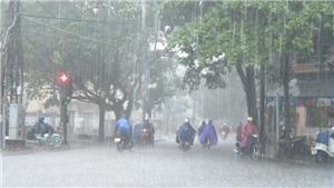 Thời tiết ngày 1/10: Các khu vực có mưa và dông, cục bộ có nơi mưa to