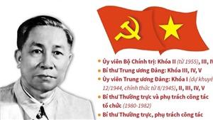 Đồng chí Lê Đức Thọ - Người cộng sản kiên cường, nhà lãnh đạo tài năng của Đảng và cách mạng