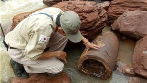 Quảng Bình di dời an toàn quả bom 'khủng' nặng hơn 3,3 tạ ở vùng biên giới