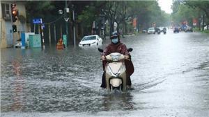 Bão số 7 kết hợp gió mùa Đông Bắc gây mưa rất to ở miền Bắc
