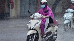 Không khí lạnh ảnh hưởng tới Bắc Bộ và Thanh Hóa, cục bộ có mưa vừa, mưa to