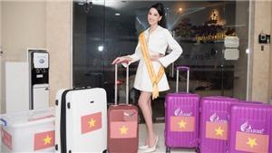 Người đẹp Ái Nhi lên đường sang Ai Cập dự thi Miss Intercontinental 2021