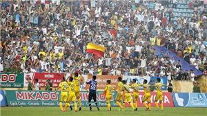 Đánh bại hậu duệ Thể Công, Nam Định trở lại V-League sau 7 năm