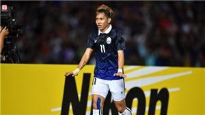 'Messi Campuchia' có thể nghỉ trận gặp Việt Nam ở Mỹ Đình